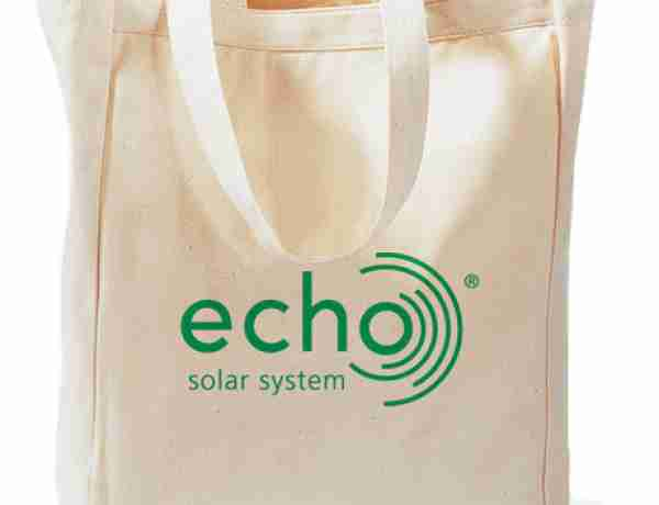 Natural canvas promotional bags
