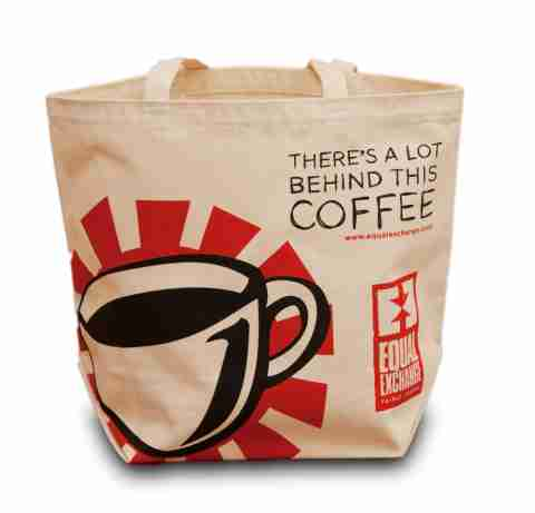 Printed canvas promotional bags