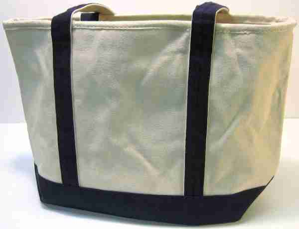 Women's canvas tote bags with long handle