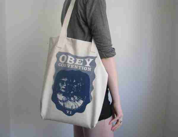 Canvas tote bags with long handle